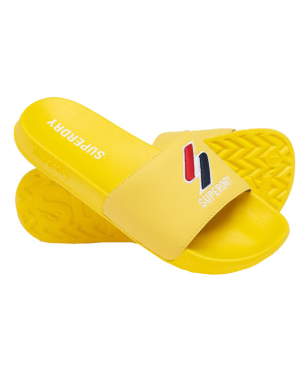 Superdry core badslippers yellow