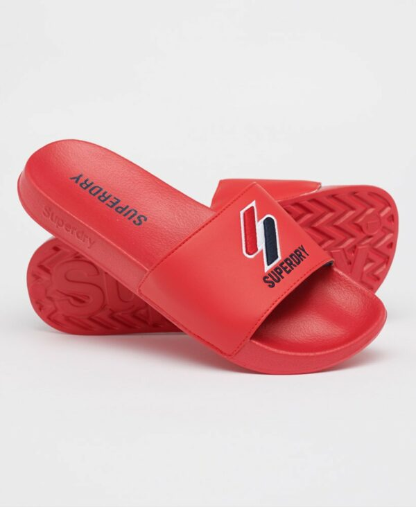 Superdry core badslippers red